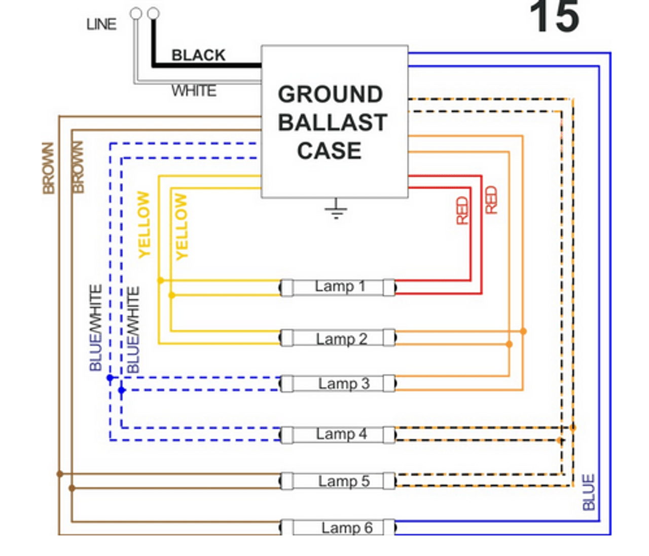 small resolution of  allanson 696 at277v magnetic sign ballast on universal ballast wiring diagrams t5 ballast wiring
