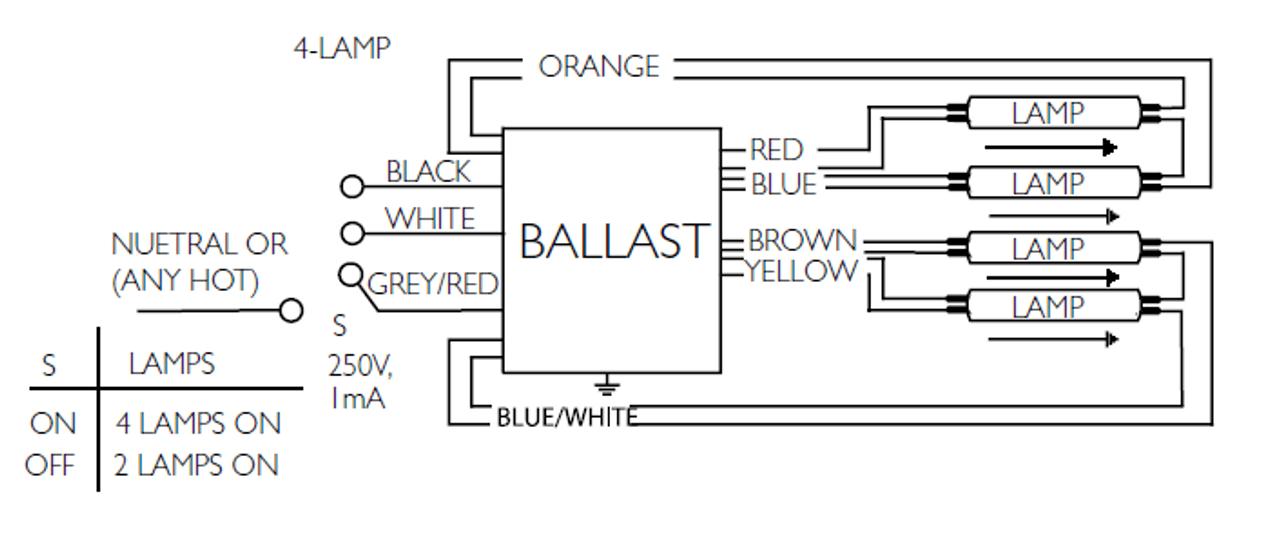 advance t5 ballast wiring diagram basic chevy hot rod centium hcn 4s54 90c 2ls g wire