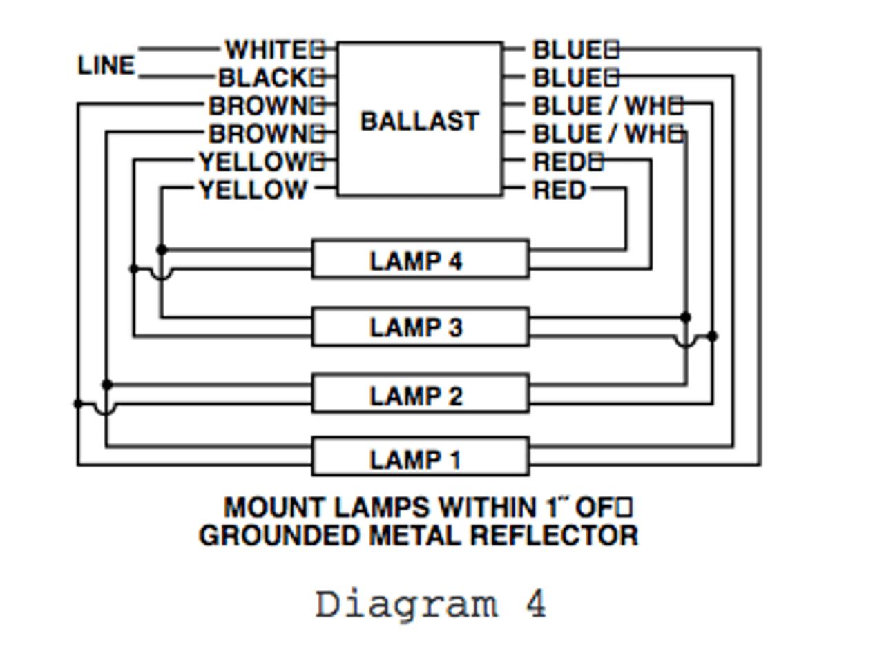 4 wire diagram ballast [ 1280 x 966 Pixel ]