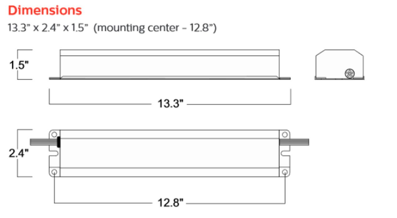 philips bodine b50st dimensions  [ 1280 x 703 Pixel ]