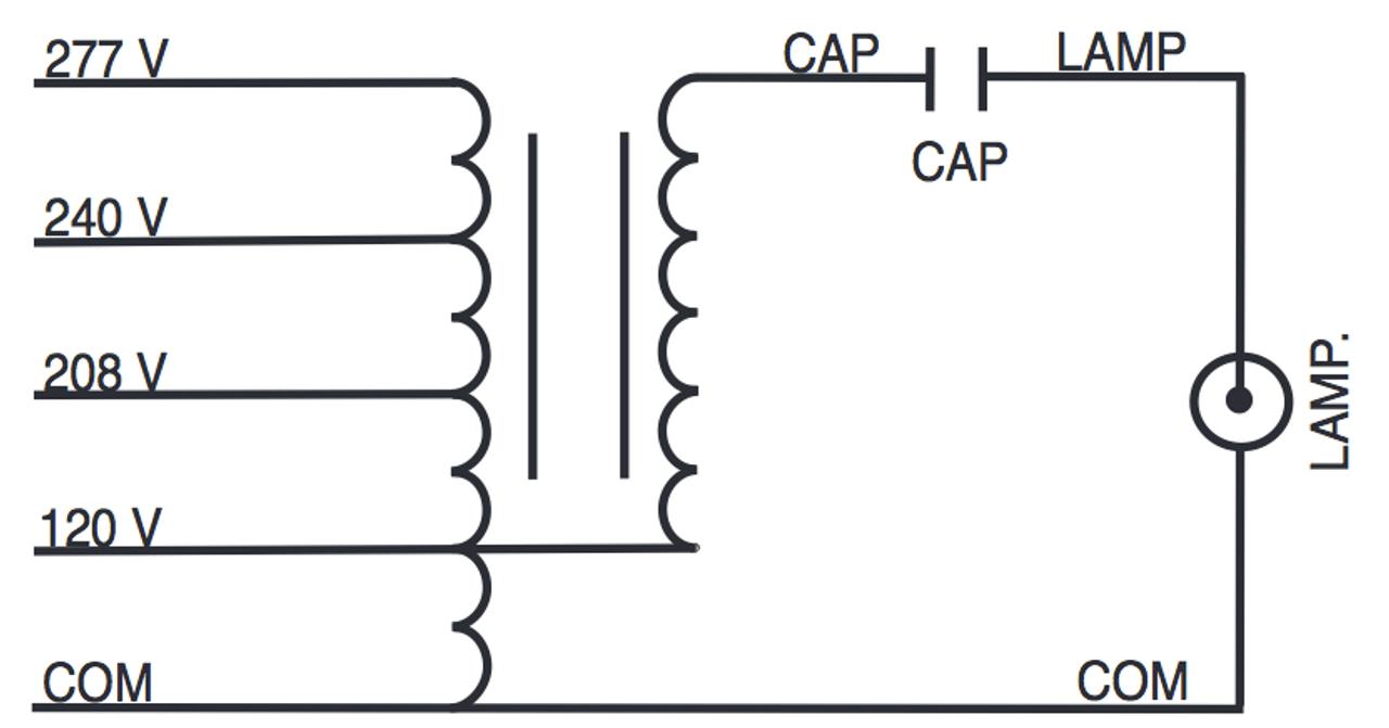 hight resolution of m175 multi kit sylvania 47735 metal halide ballast kitm175 multi kit wire diagram