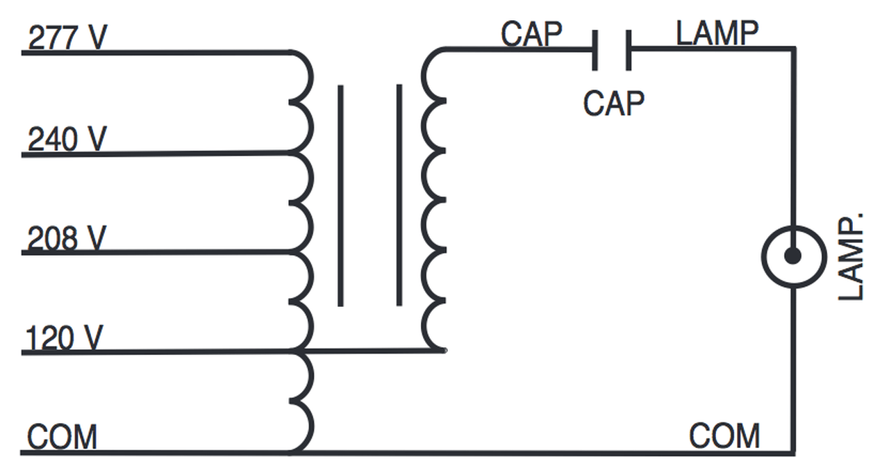 small resolution of m175 multi kit sylvania 47735 metal halide ballast kitm175 multi kit wire diagram