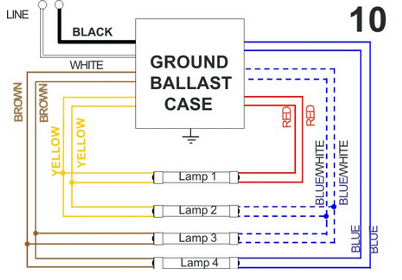 small resolution of  allanson magnetic 4 lamp wiring