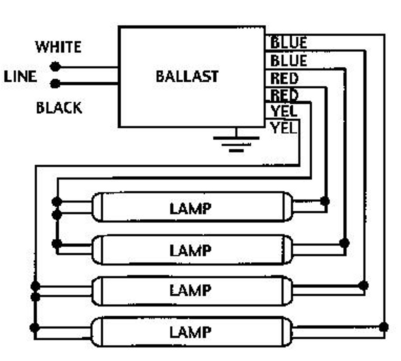 small resolution of  ge432 max g n 74463 ge electronic t8 ballast on t5 electronic ballast t5 ge f40t12 ballast wiring diagram