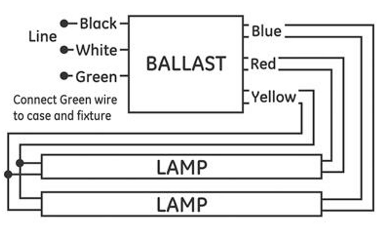 hight resolution of ge240 ps mv n 74472 ge multi volt proline electronic ballast ge f40t12 ballast wiring diagram