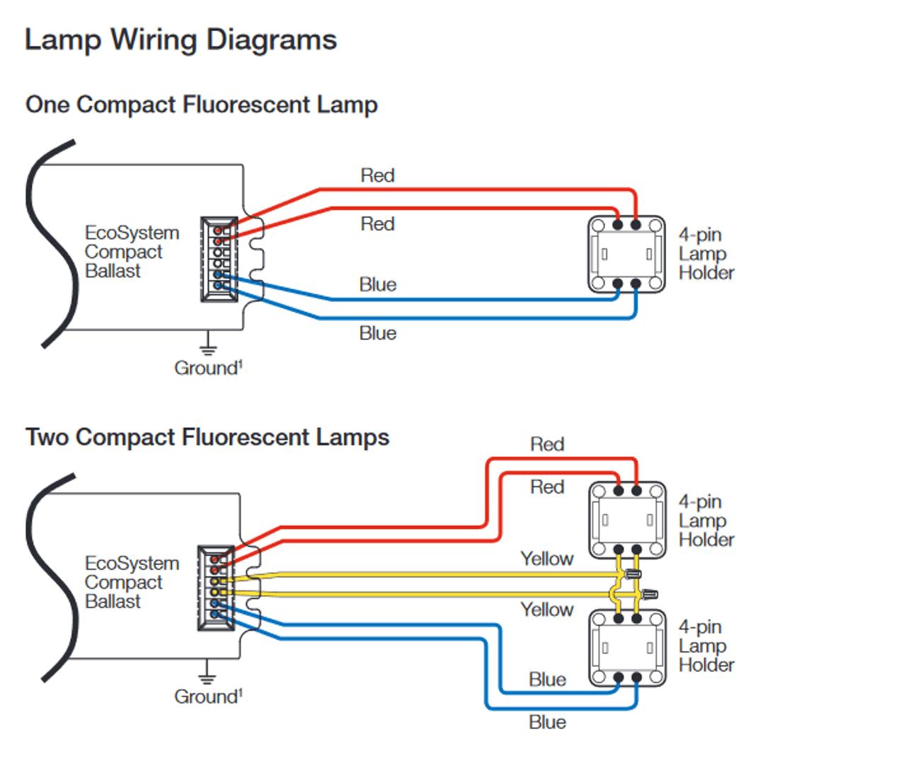 medium resolution of cfl 4 pin diagram manual e book 4 pin compact fluorescent wiring diagram wiring diagram new4
