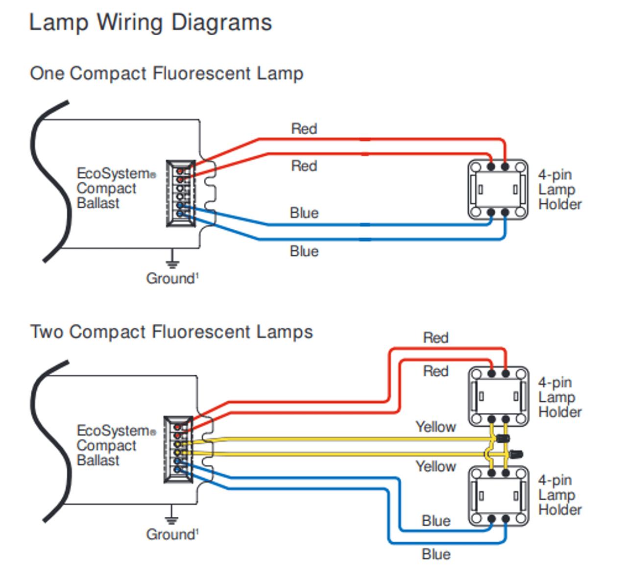 medium resolution of 4 pin cfl wiring diagram wiring diagram page 4 pin compact fluorescent wiring diagram