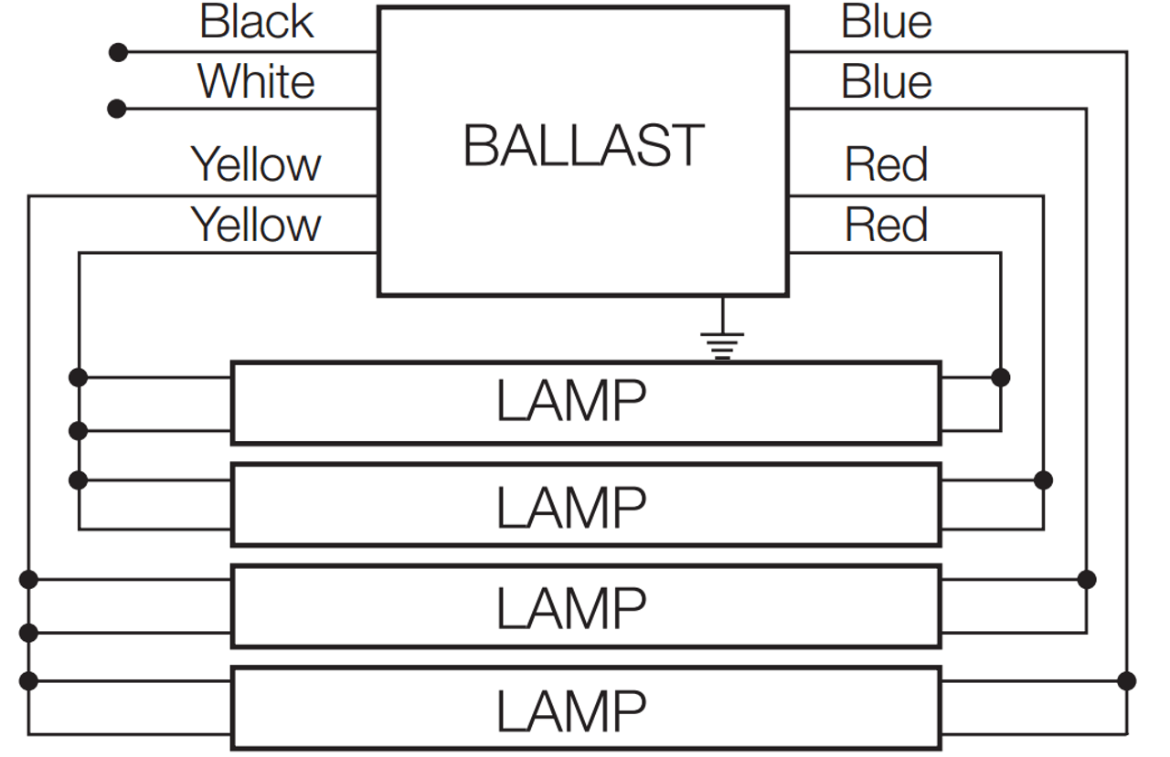 Wiring Diagram For Osram Quicktronic Ballast