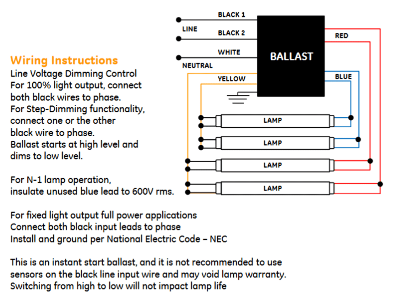 hight resolution of ge electronic ballast wiring diagram