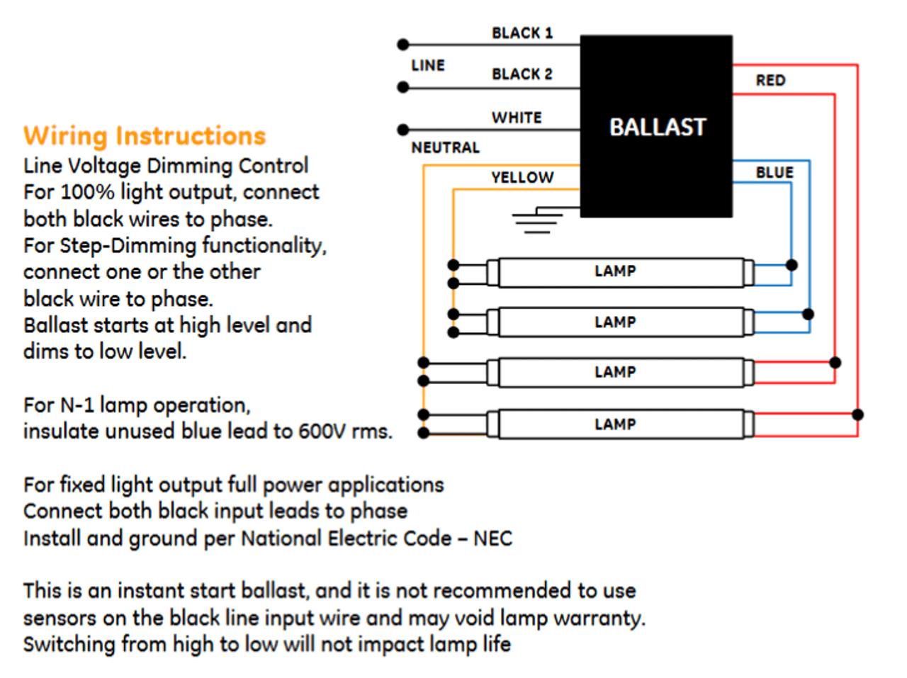 ge stepped dimming ballast wiring diagram another wiring diagram bi level dimming wiring diagram [ 1280 x 957 Pixel ]