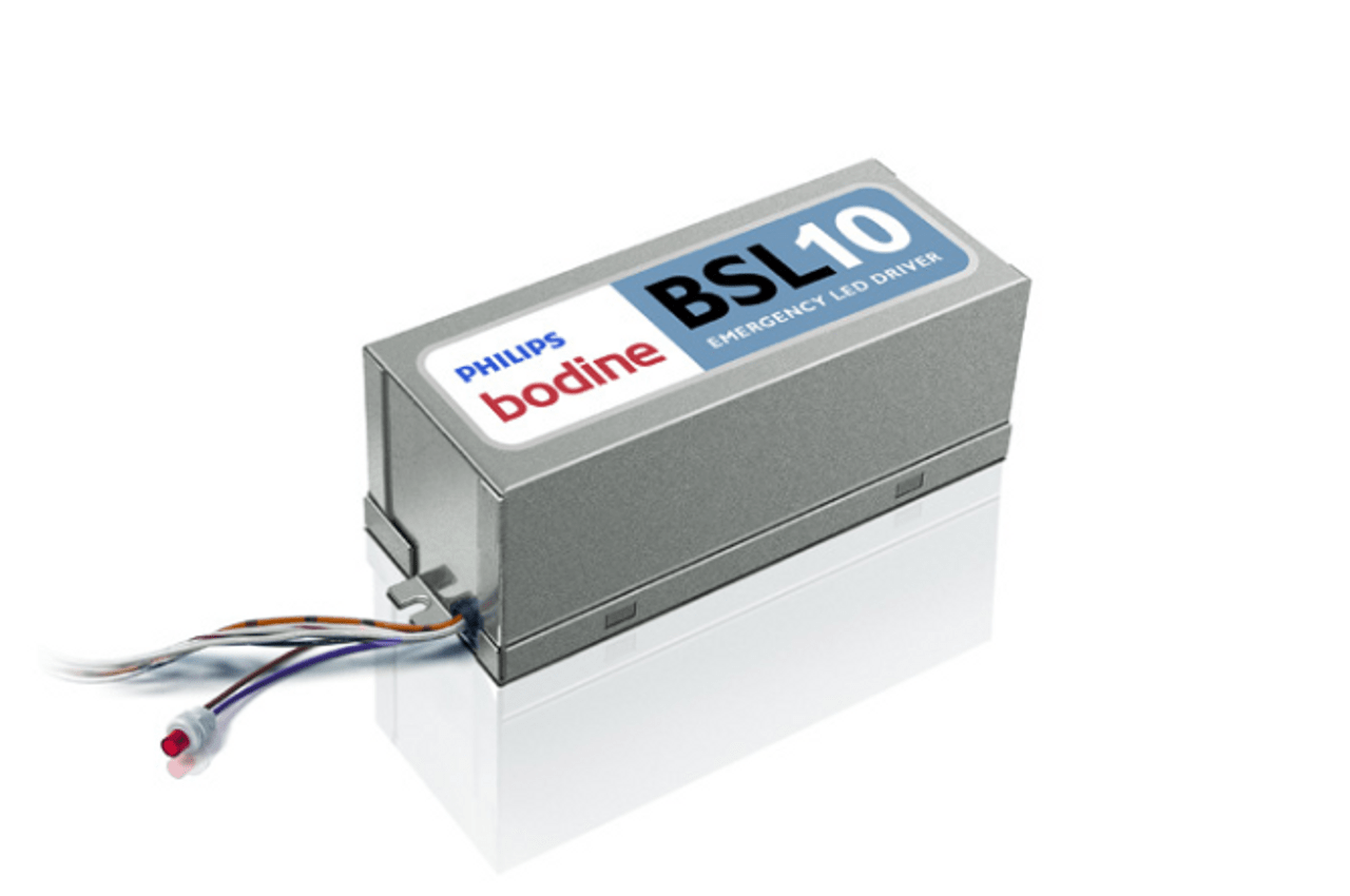 hight resolution of bodine bsl10 led emergency driver extreme temperature