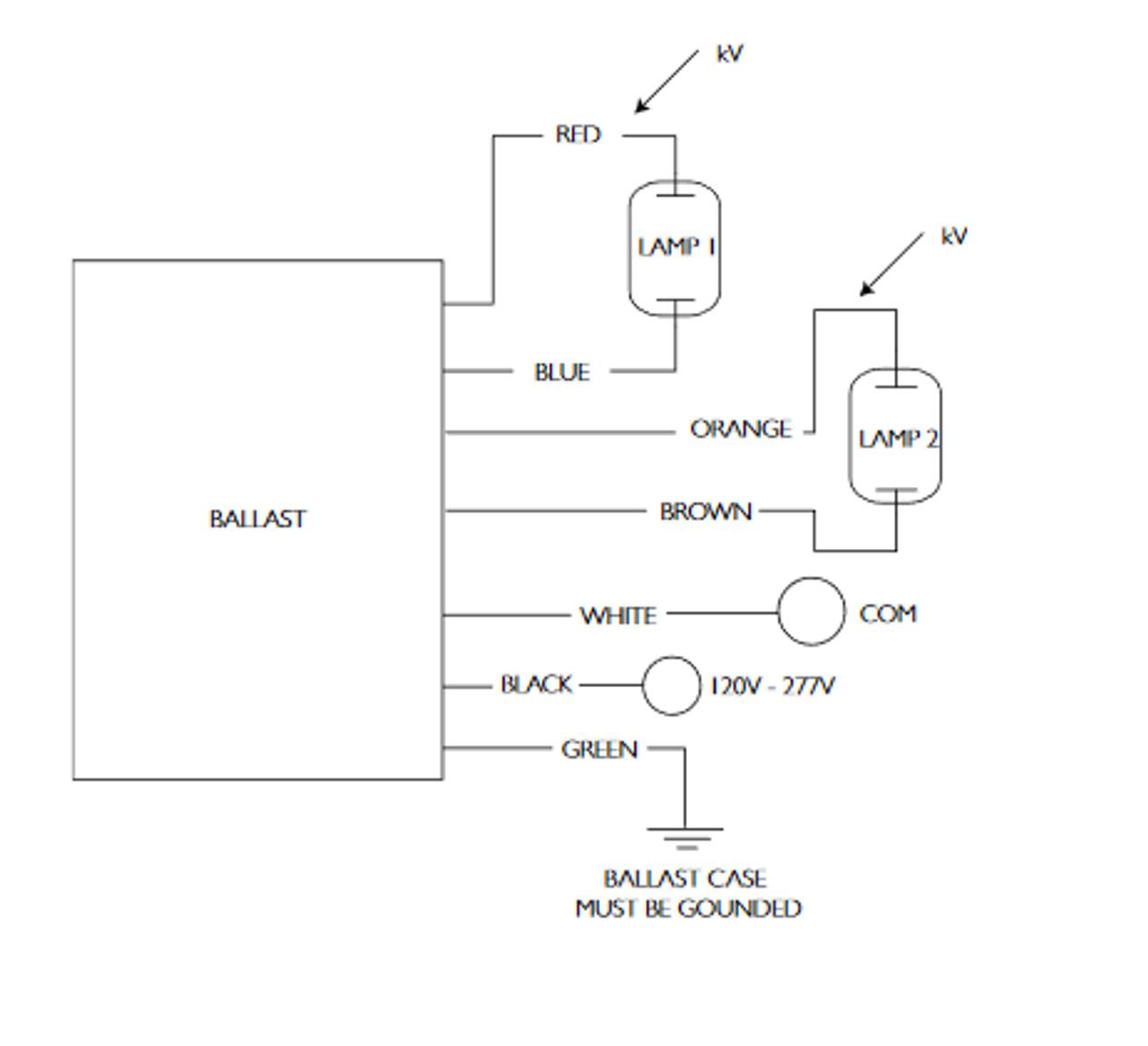 medium resolution of  philips advance ballast wiring diagram v on 1963 mopar ignition switch diagram ballast metal halide