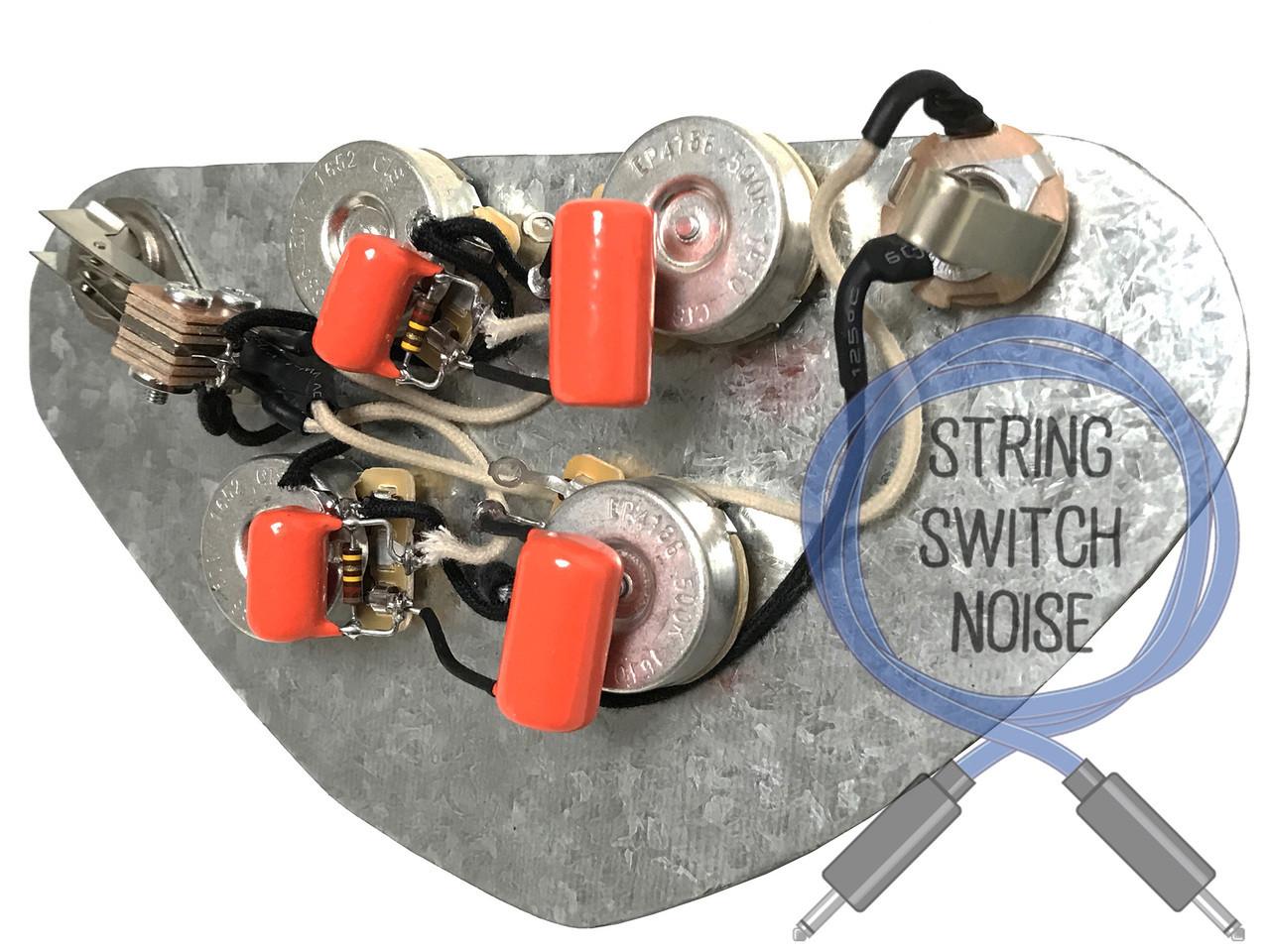 medium resolution of gibson sg wiring harness treble bleed no load tone 50 u0027s