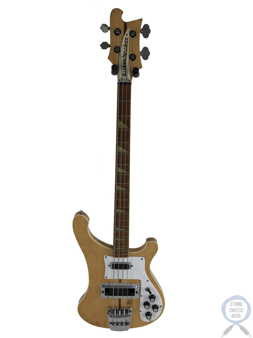 rickenbacker 4001 bass usa 1978 vintage mapleglo original hard case [ 960 x 1280 Pixel ]