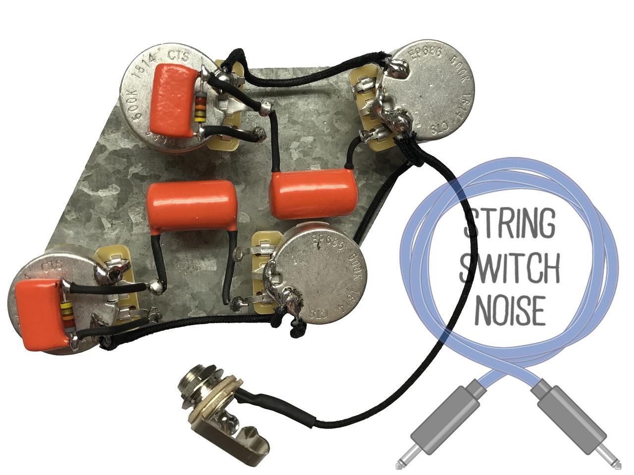 gibson les paul long shaft pots wiring harness treble bleed wiring gibson les paul wiring guitar treble bleed wiring gibson les [ 1280 x 960 Pixel ]