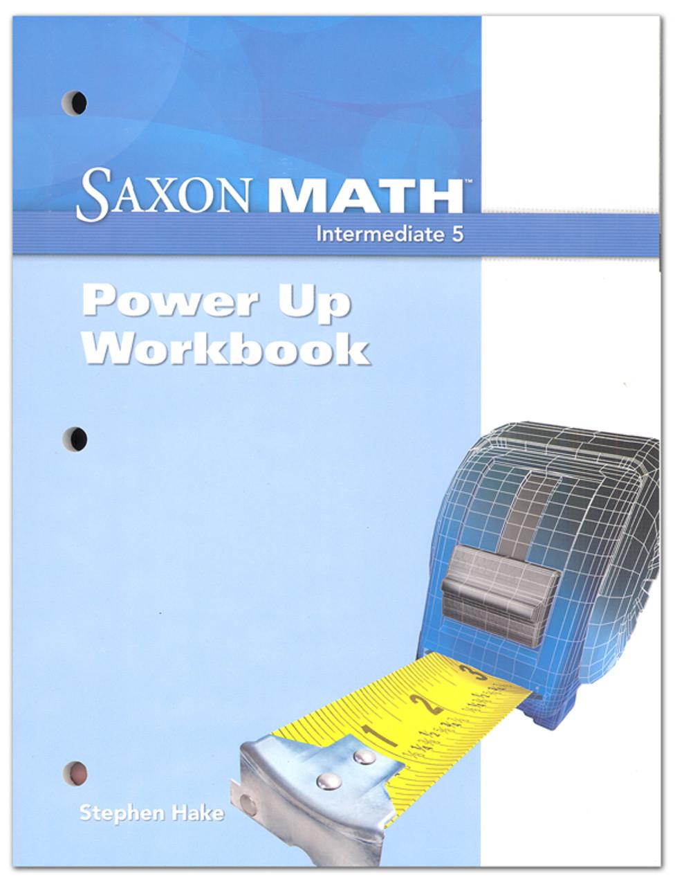 hight resolution of Saxon Math Grade 5 Intermediate Power Up Workbook - Classroom Resource  Center