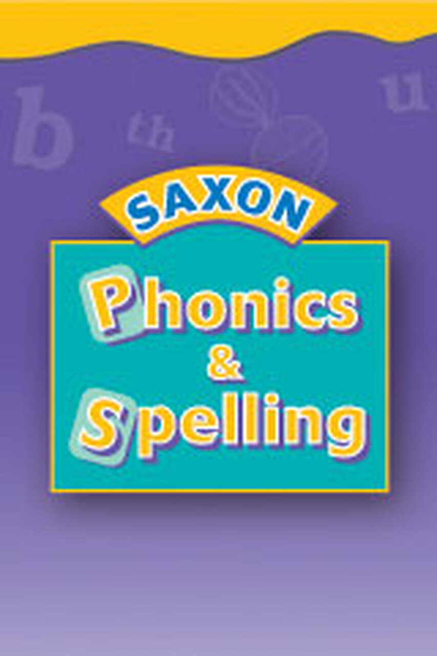 Saxon Phonics Grade 2 - 24 Student (Kit Box 1) Student Worksheets -  Classroom Resource Center [ 1280 x 853 Pixel ]