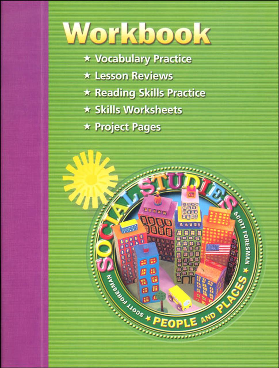 Scott Foresman Social Studies Grade 2 Student Workbook - People and Places  - Classroom Resource Center [ 1280 x 970 Pixel ]