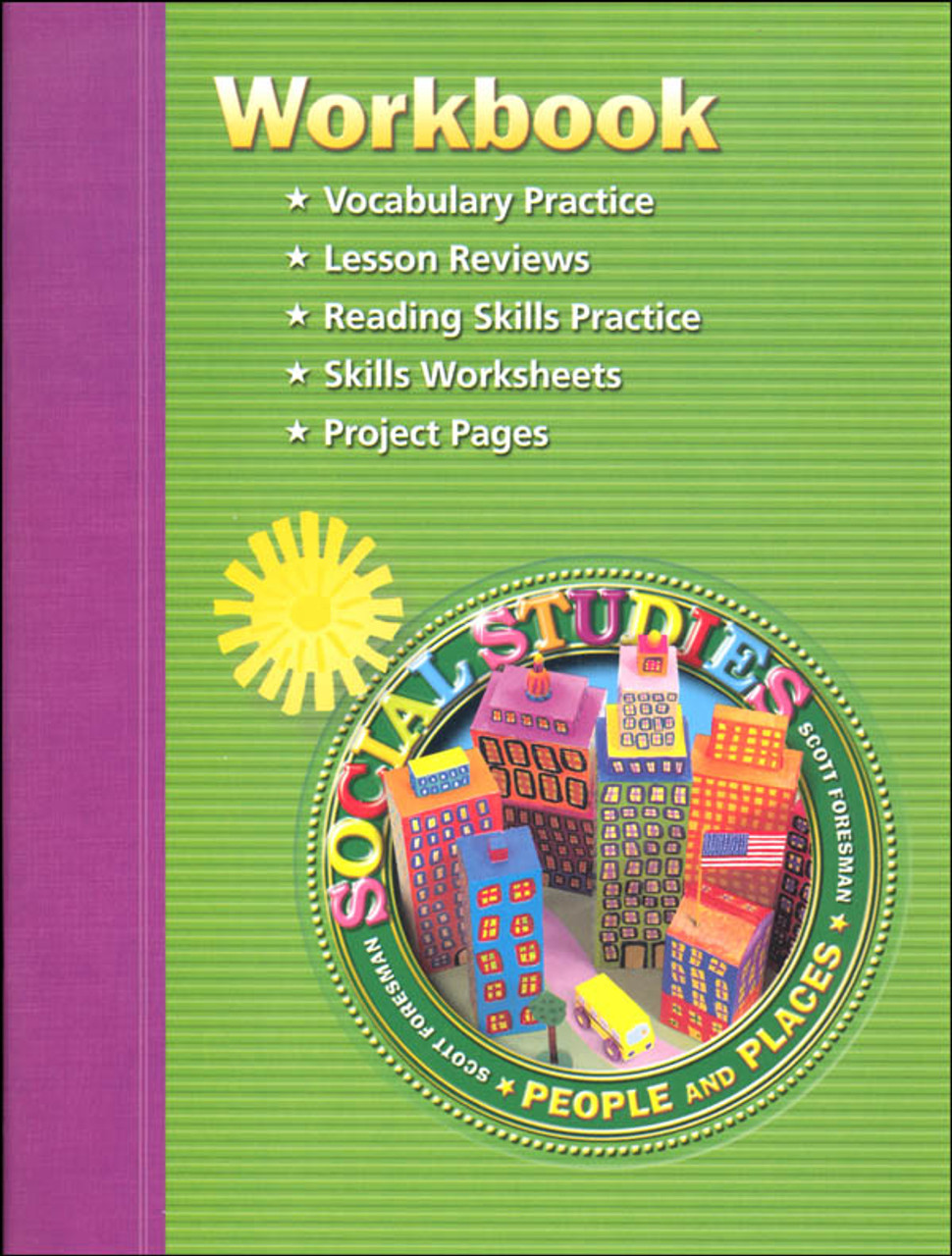 medium resolution of Scott Foresman Social Studies Grade 2 Student Workbook - People and Places  - Classroom Resource Center