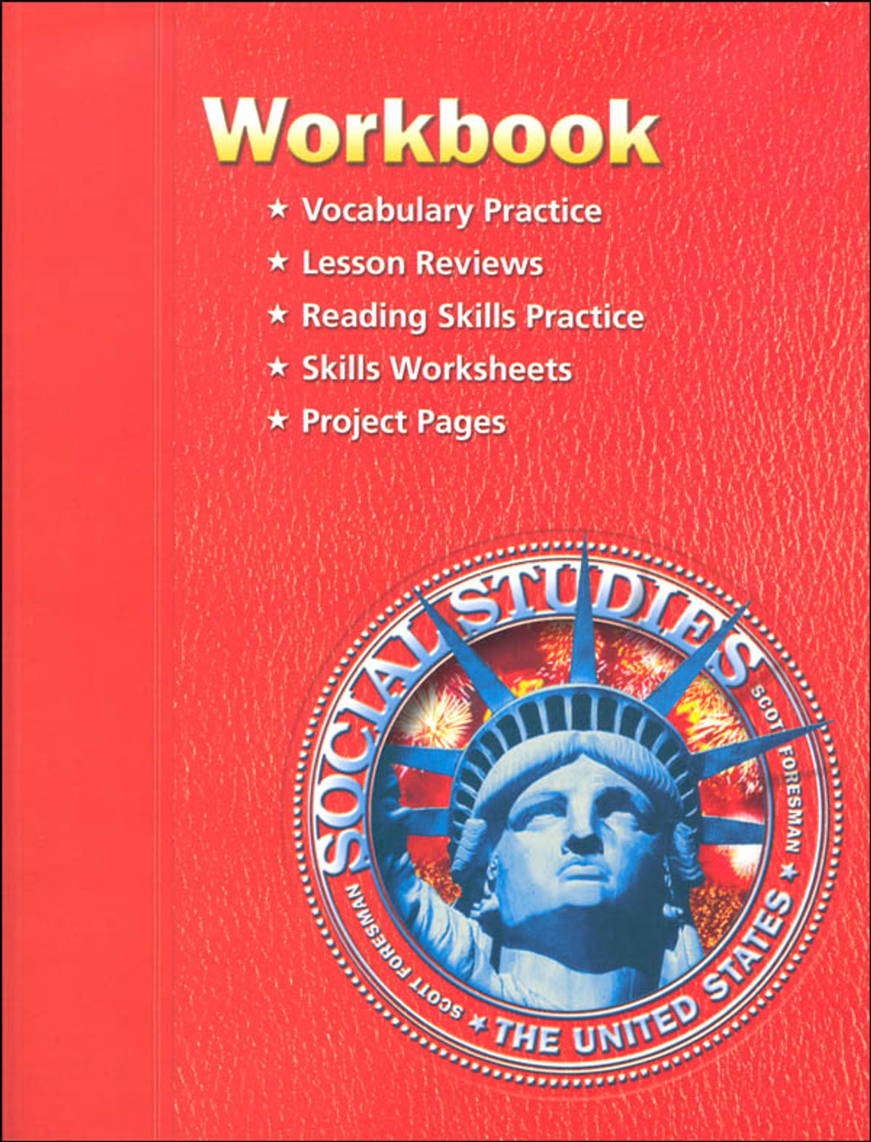 Scott Foresman Social Studies Grade 5 Student Workbook - The United States  - Classroom Resource Center [ 1280 x 976 Pixel ]