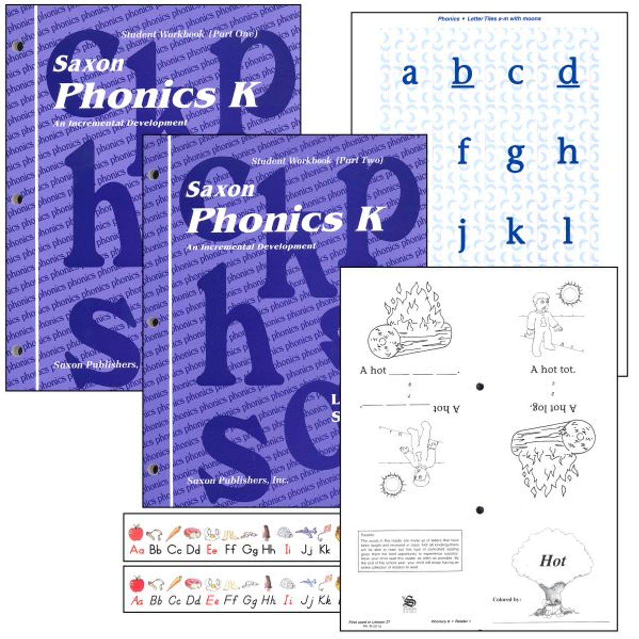Saxon Phonics Grade K Student Workbook Set - Classroom Resource Center [ 1280 x 1280 Pixel ]