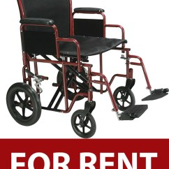 Bariatric Transport Chair 500 Lbs Covers For Rent In Trinidad Heavy Duty Wheelchair
