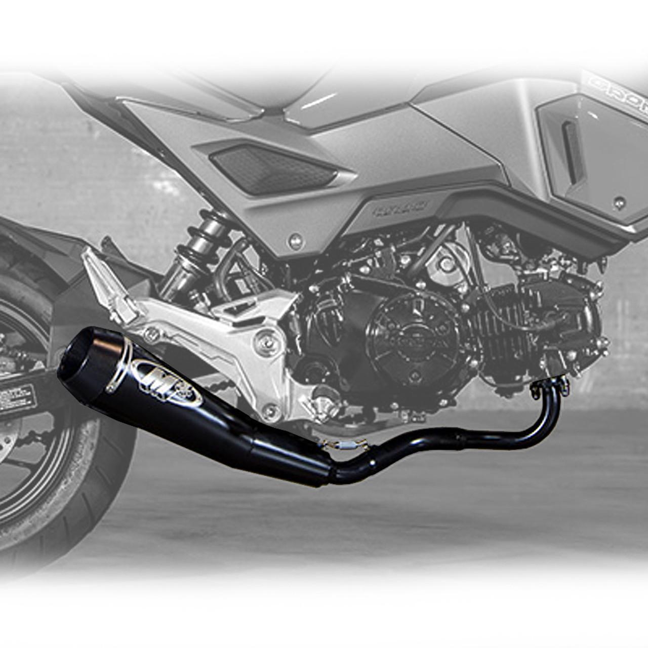 m4 honda grom 17 21 gp mount full exhaust system