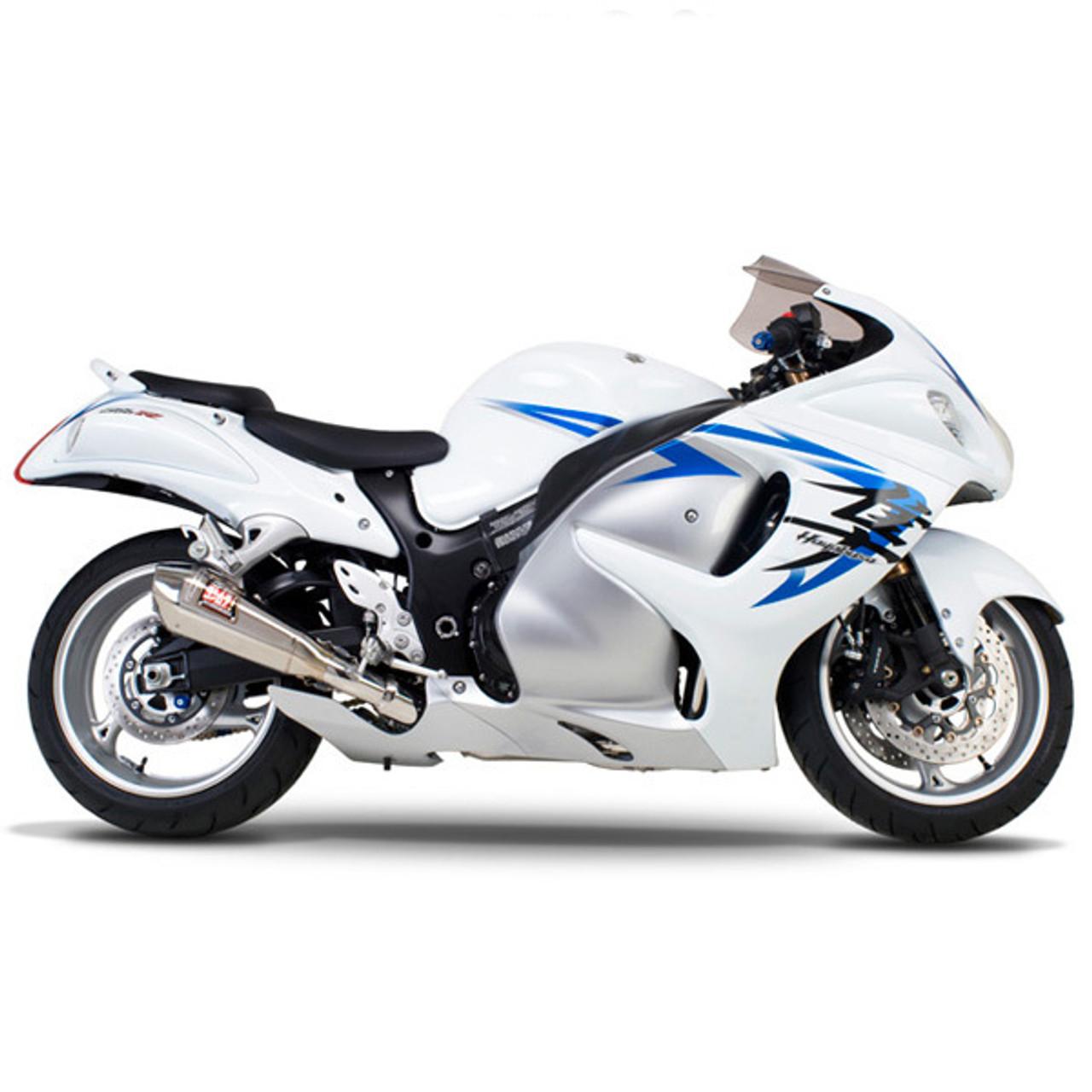 yoshimura suzuki hayabusa 08 20 race r 55 stainless full exhaust ss ss ss