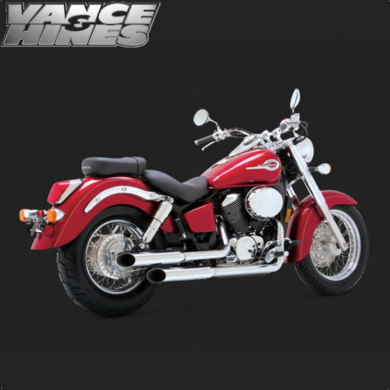 vance hines cruzer full exhaust system honda shadow ace 750 98 03