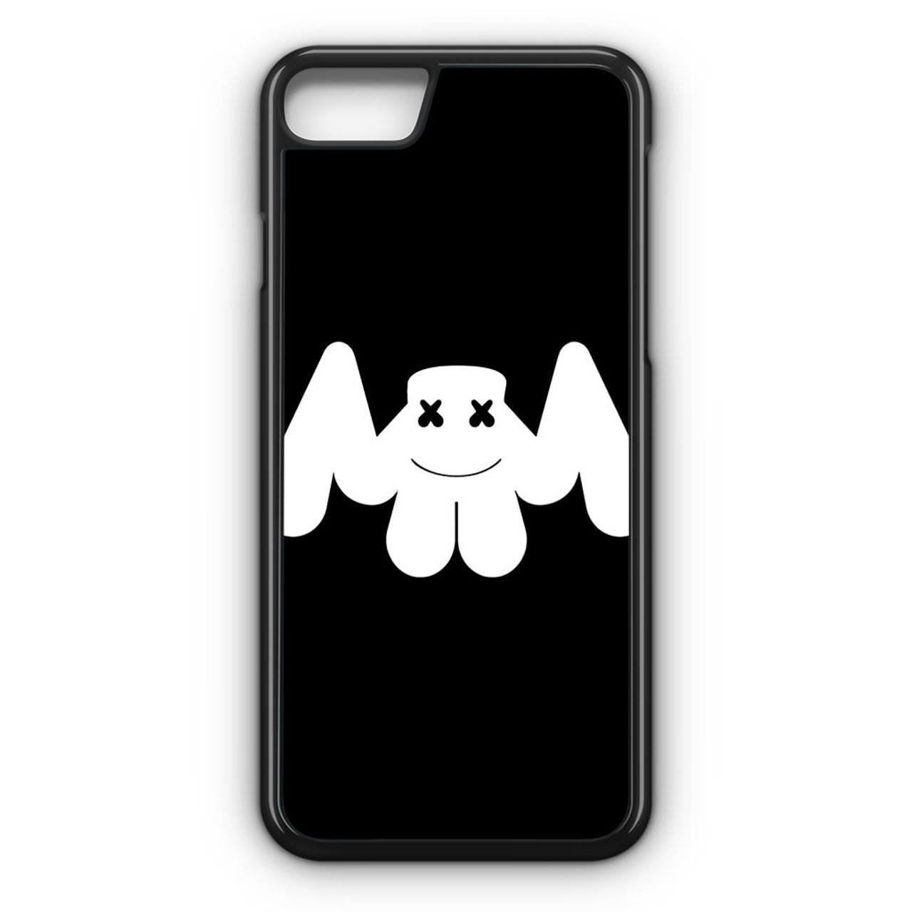 marshmello logo dark iphone
