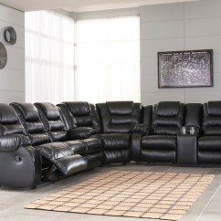 Black Reclining Sofa With Console Italian Leather Sofas Preston The Vacherie Wedge Dbl Loveseat Sectional Available At Barnett And Swann In Athens Al