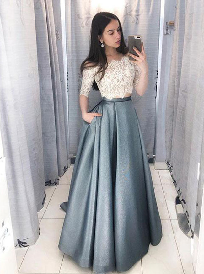 c3216fc228bb 85+ Clarisse Prom Dress 3087 Promgirl Net. Shail K A Line Long V ...