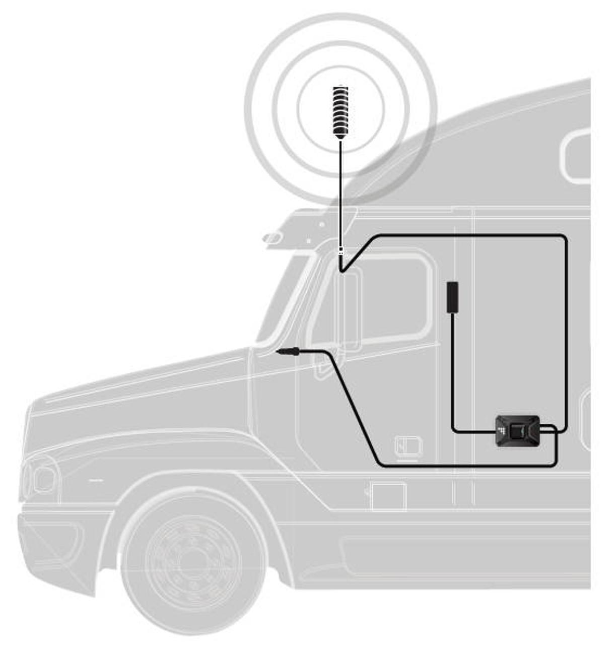 weboost drive 4g x otr truck signal booster system diagram  [ 1215 x 1280 Pixel ]