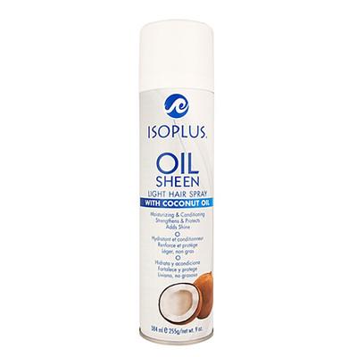 isoplus oil sheen light hair spray