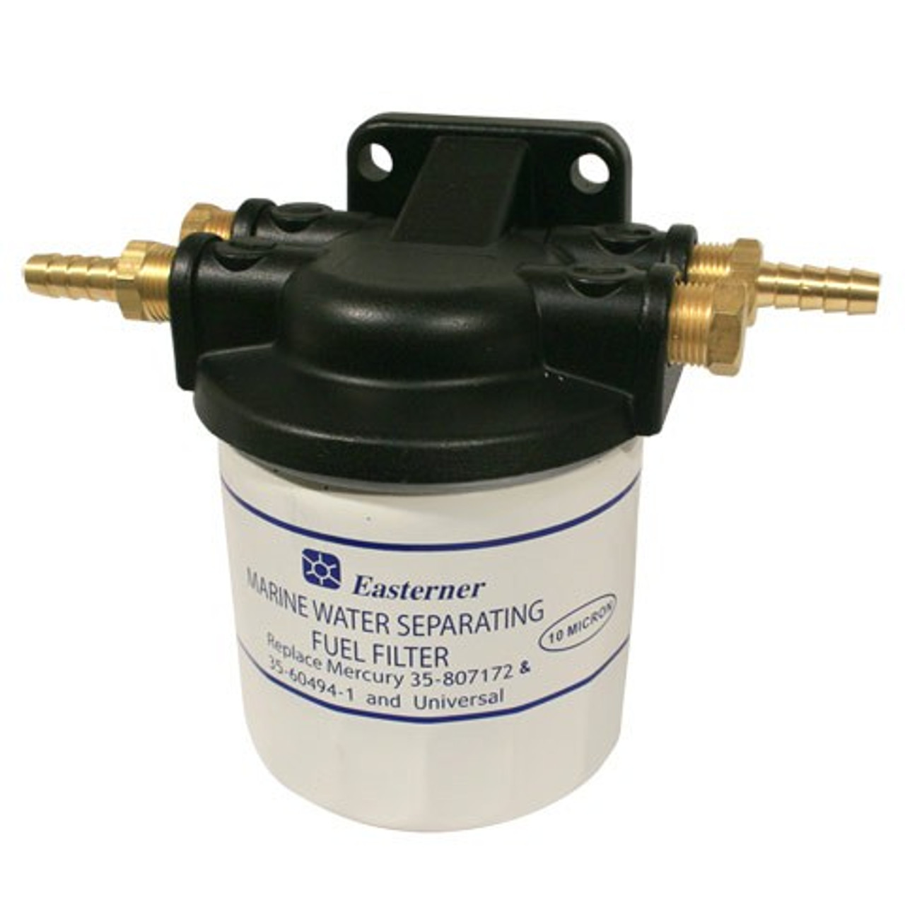 medium resolution of fuel filter mercury style spin on canister assembly