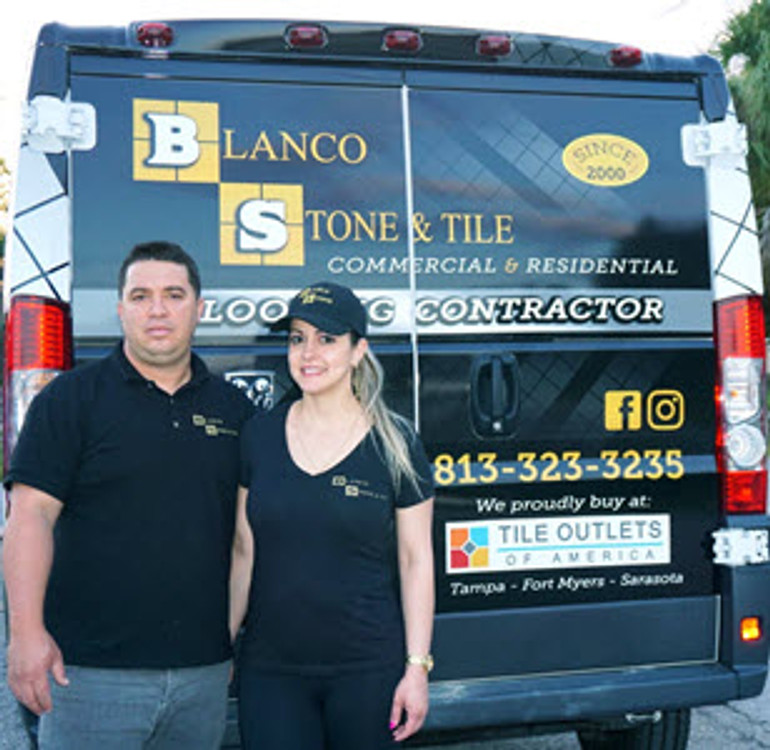 blanco stone and tile proudly buys from