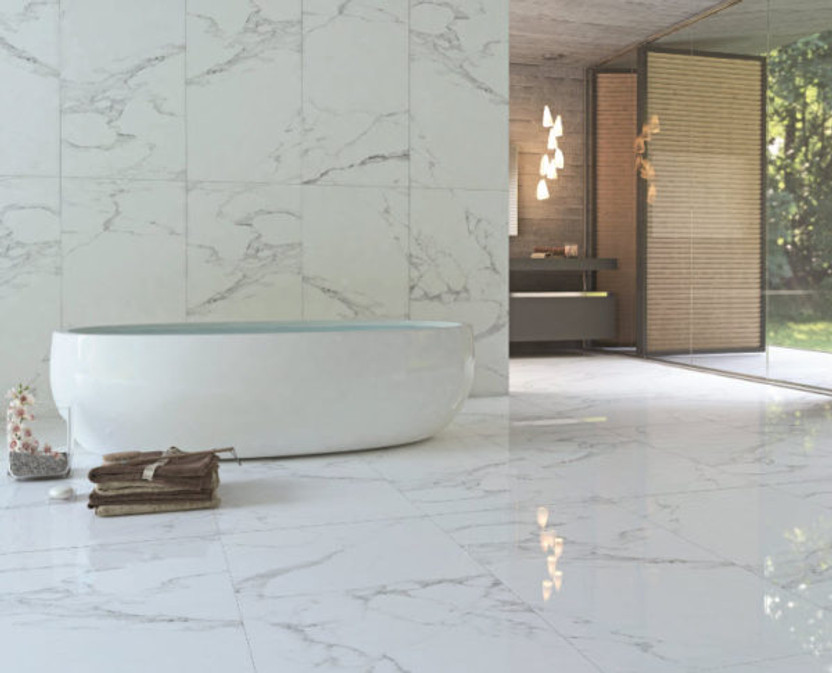 have you tried large format tile