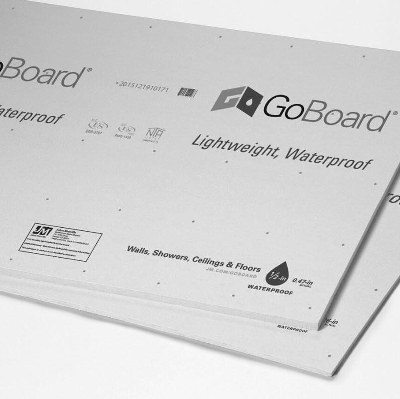 introducing goboard waterproof tile