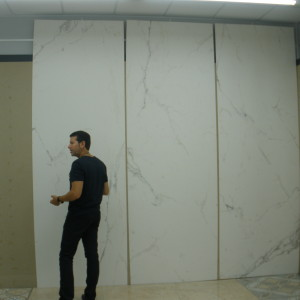 thin tiles for floors and walls