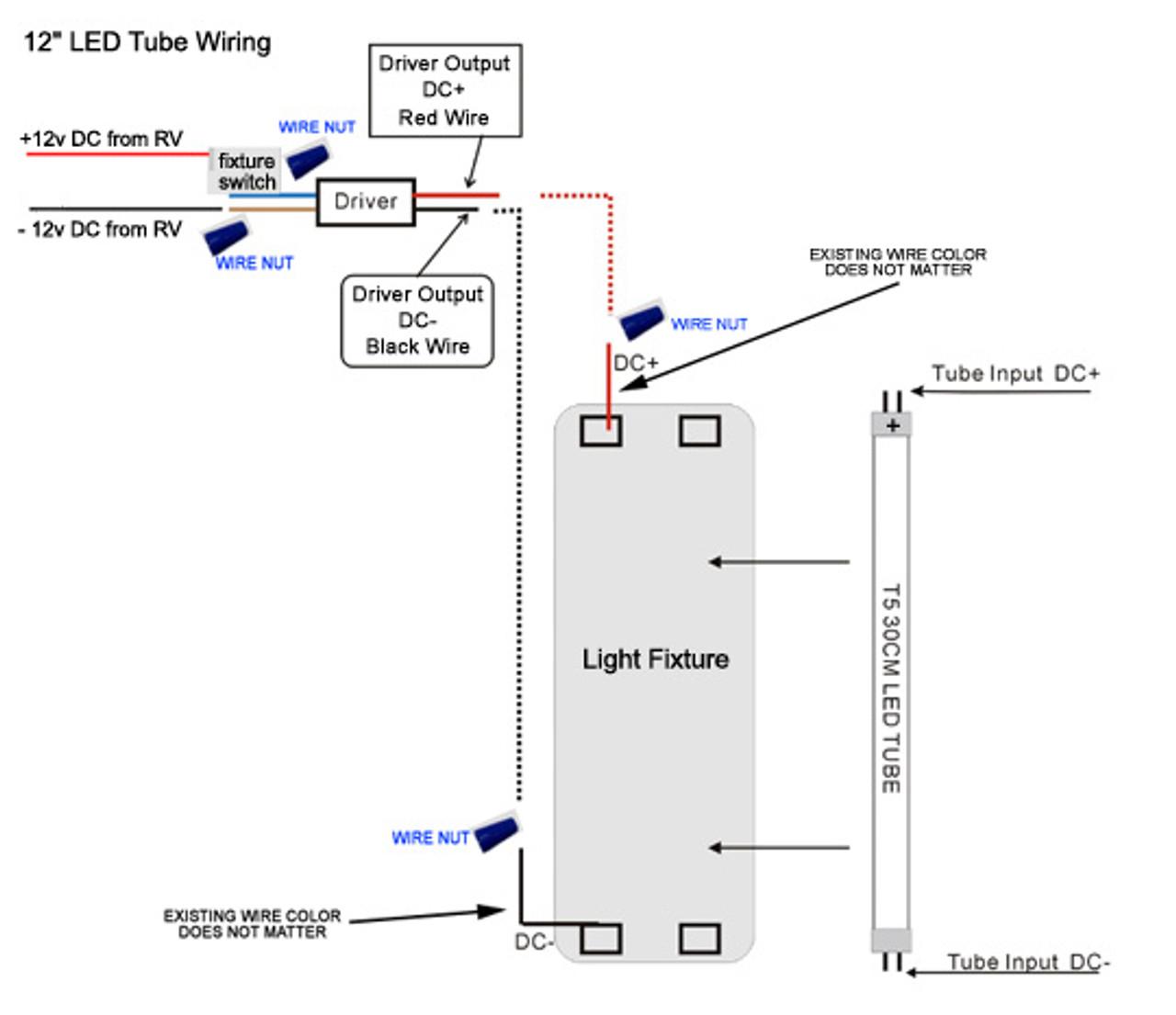 hight resolution of t5 12tube nw natural white 12 t 5 led tube light 4500k