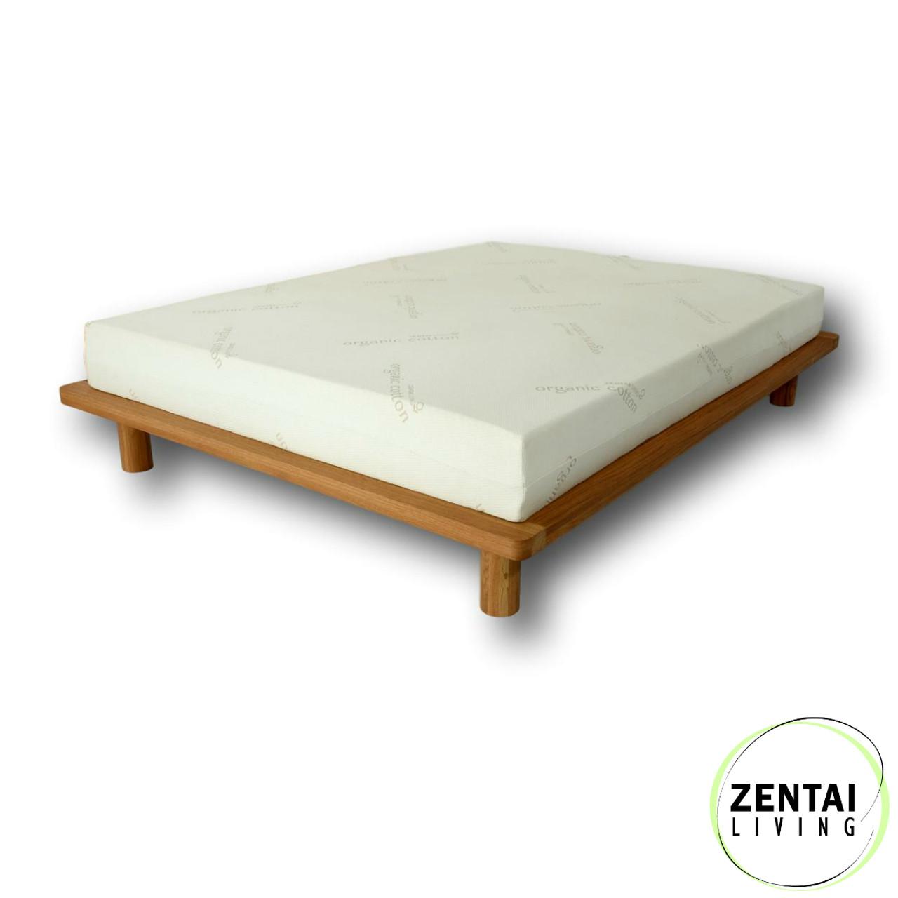 solid base platform bed