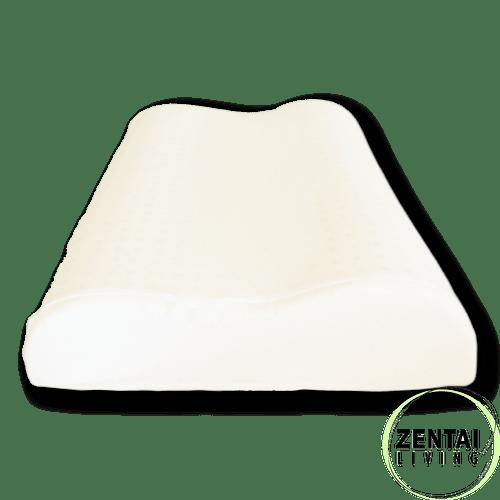 natural latex pillow gols certified organic latex contour