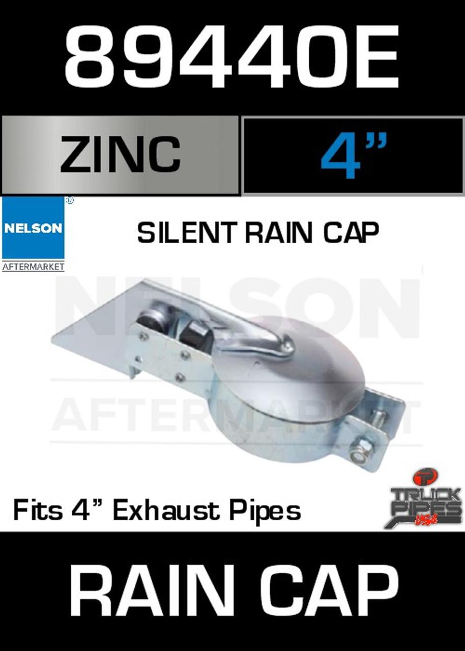 rain cap exhaust 4 zinc plated silent 89440e