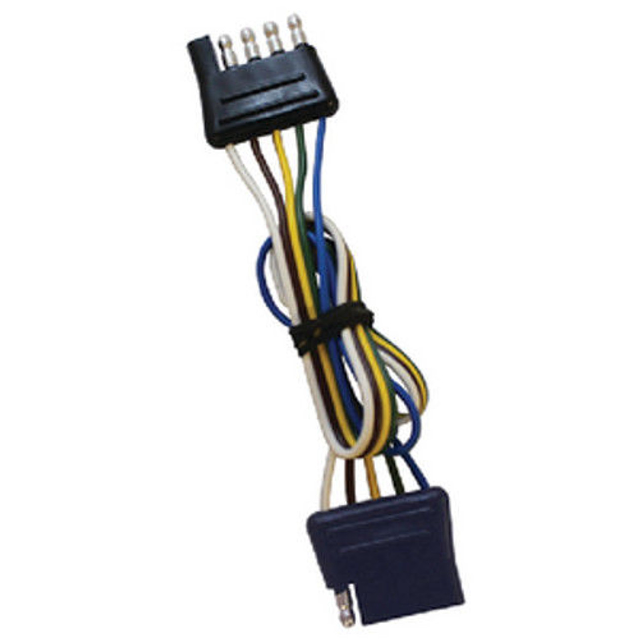 small resolution of 60 inch long flat 5 way boat trailer wiring harness extension flat extension wire 4 60