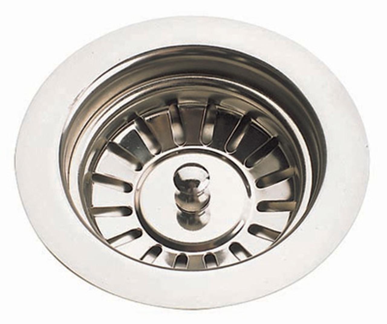 brass traditional sinks by mcalpine 90mm ceramic kitchen sink strainer waste