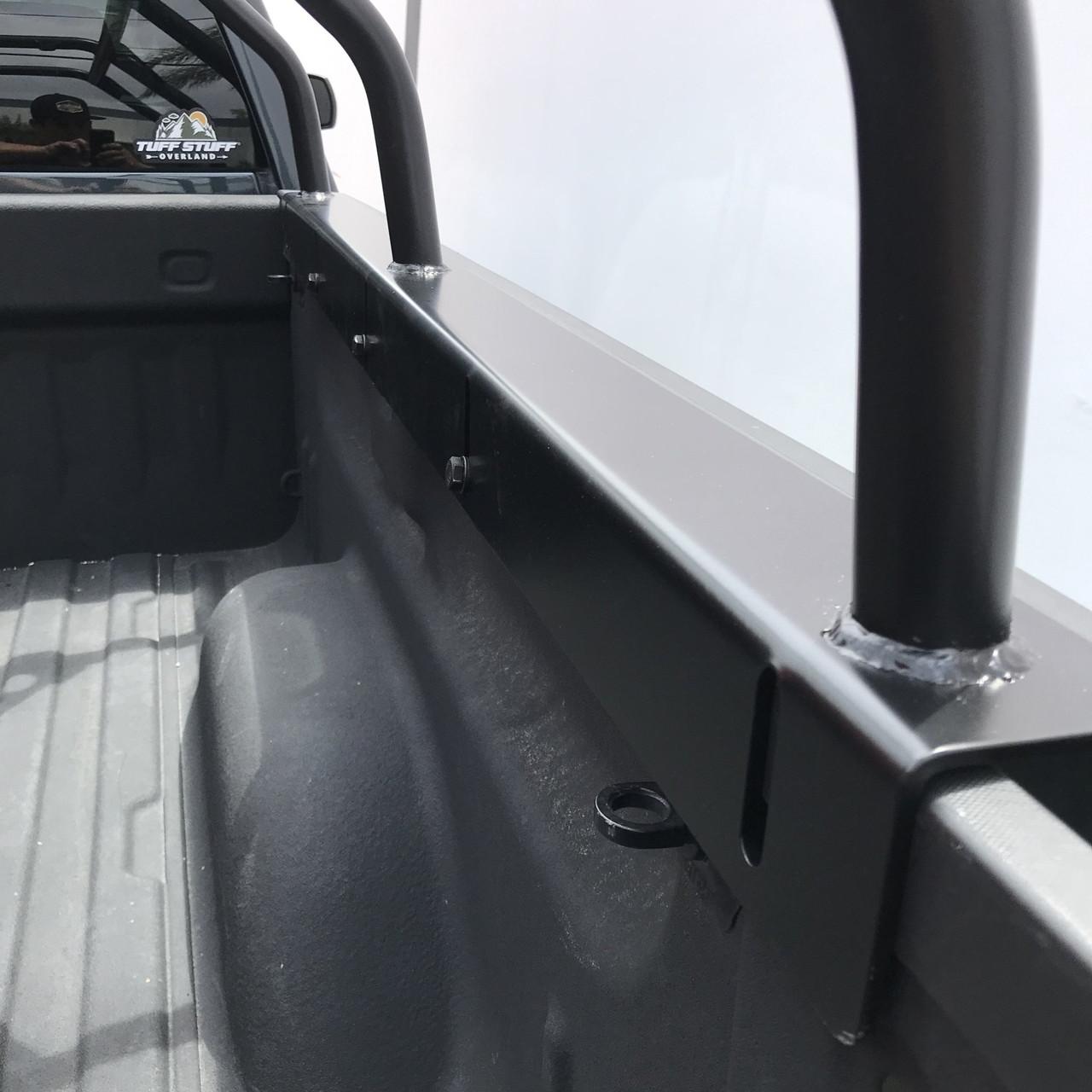 https rebeloffroad com tuff stuff roof top tent truck bed rack adjustable powder coated 51