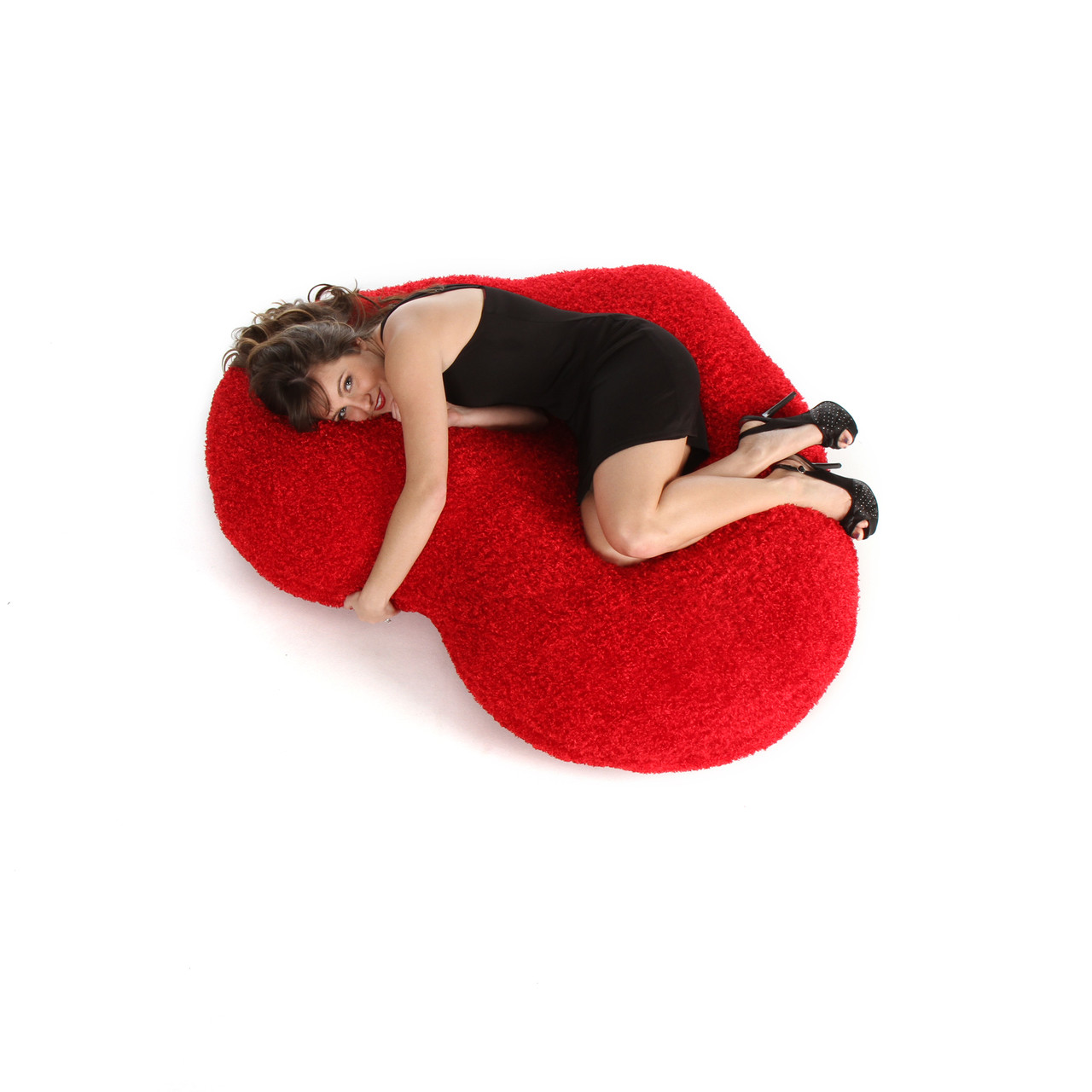 56in ginormous red heart body pillow for valentine s day from giant teddy