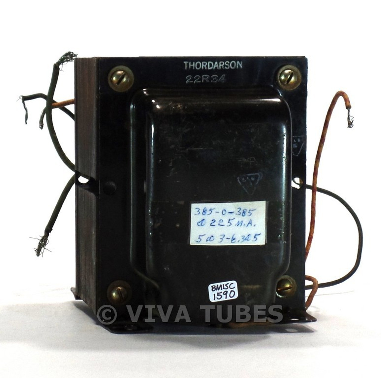 vintage thordarson 22r34 power