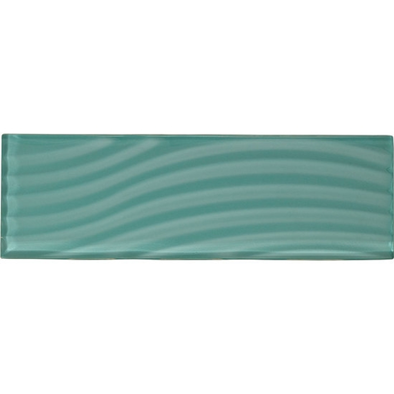 american olean color appeal entourage abstracts glass c108 fountain blue 4x12 wavy subway glass tile plank glossy
