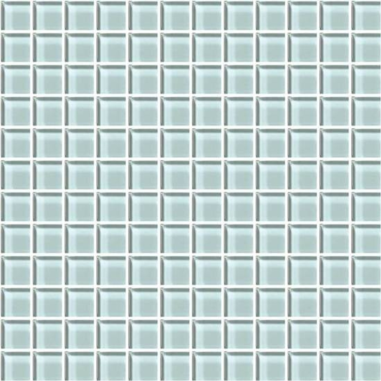 american olean color appeal glass c106 moonlight 1x1 glass tile mosaic glossy